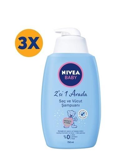 Nivea Bebek şampuani 750 ml x3 Renkli